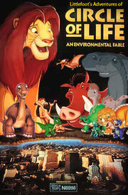 Littlefoot's Adventures of Circle of Life