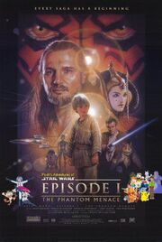 Pooh's Adventures of STAR WARS Episode 1 The Phantom Menace poster