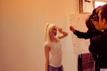 Kerli NOH8 Campaign Behind the Scenes Celebuzz 21