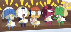 This cake is great Giroro you sure can cook