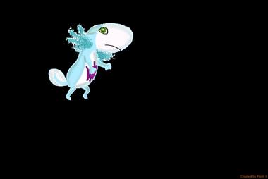 Axolotl realistic