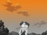 Shigure and Koyuki walking together