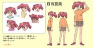 Natsumi Hinata referance sheet