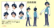 Fuyuki Hinata referance sheet