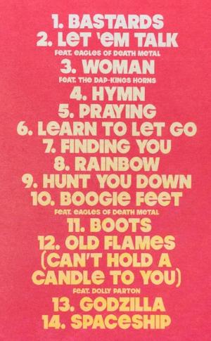 Tracklist rainbow