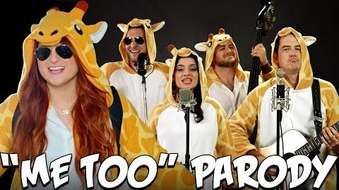 Me Too PARODY! The Key of Awesome UNPLUGGED!
