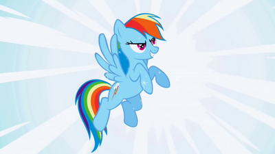 Sparkling Rainbowdash