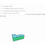 Volume with unit cubes 256
