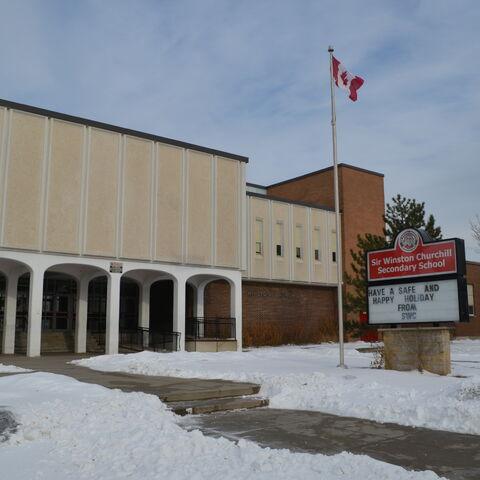 Sir Winston Churchill High School January 2014 Winter