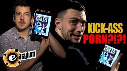 KICK-ASS 2 STAR & 'McLOVIN' Discover 'KICK-ASS' PORN PARODY (UNCENSORED)