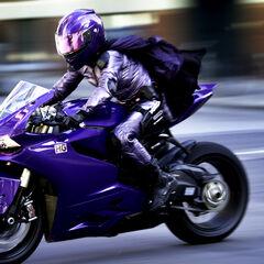 Hit-Girl's Ducati