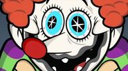 Petrified! clown