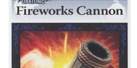Fireworks Cannon - AR Card