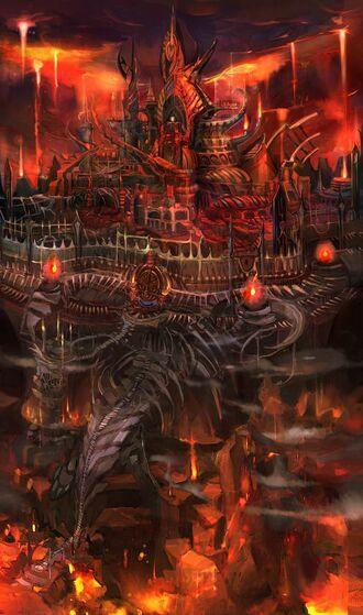 Chateau des Enfers de Medusa
