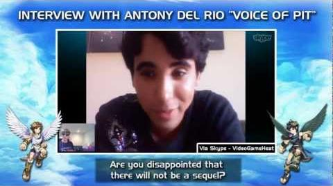 "Interview with Antony Del Rio ""Voice of Pit"" in Kid Icarus Uprising - VGH Exclusive!"