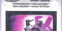 Doom Cannon - AR Card