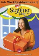 Kids World's Adventures of Signing Time Happy Birthday To You