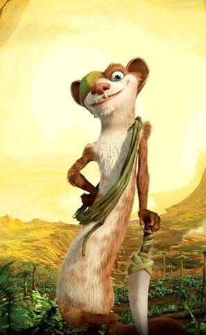 Buck The Weasel