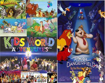 Kids World's Adventures of Rover Dangerfield