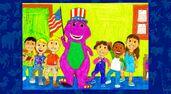 Barney goes to school by bestbarneyfan-d9tfj0x