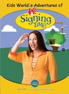 Kids World's Adventures of Signing Time Nice to Meet You