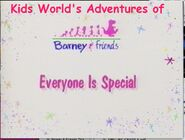 Kids World's Adventures of Everyone Is Special