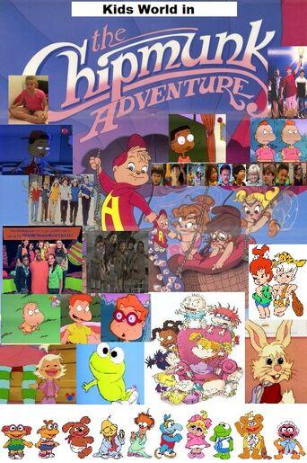 Kids World In The Chipmunks Adventure