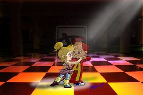 Alvin and brittany s love dance by peacekeeperj3low-d7z2dok