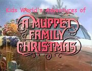 Kids World's Adventures of A Muppet Family Christmas