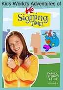 Kids World's Adventures of Signing Time - Families, Feelings & Fun