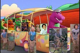 Kids World's Adventures of Barney's Adventure Bus