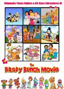 Chipmunks Tunes Babies & All-Stars' Adventures of The Brady Bunch Movie