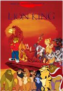 Benny, Leo, and Johnny's adventures of The Lion King Poster
