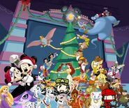 Alex and His Family adventures of Mickey's Magical Christmas Snowed in at the House of Mouse