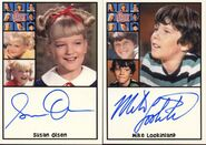 Susan Olsen & Mike Lookinland Autograph
