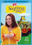 Kids World's Adventures of Signing Time - The Zoo Train