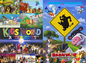 Kids World's Adventures in Barnyard- The Original Party Animals