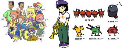 The Burger King Kids Club Gang and The Honbatz