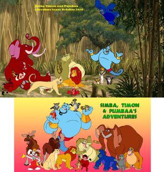 Kids World's Adventures Team (from Simba, Timon, and Pumbaa's Adventure Team of Series - The Jungle Adventure Crew Team