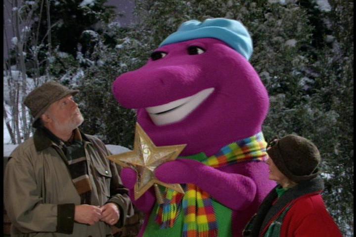 Image - Kids World's Adventures of Barney's Christmas Star ...