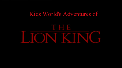 Kids World's Adventures of The Lion King