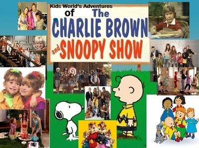 Kids World's Adventures of The Charlie Brown & Snoopy Show