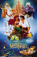 Pooh's Adventures of The Little Mermaid Poster