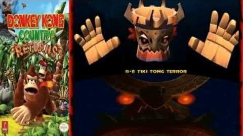 Let's Listen DKC Returns (Wii) - Tiki Tong Battle Theme (Extended)