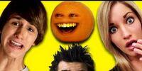 Annoying Orange, MysteryGuitarMan, Fred, iJustine