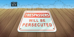 2-1 - Trespassers Will Be Persecuted