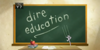 Dire Education (Image Shop)