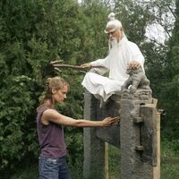 Pai Mei teaching Bride Punch