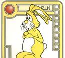Yellow Timid Bunny