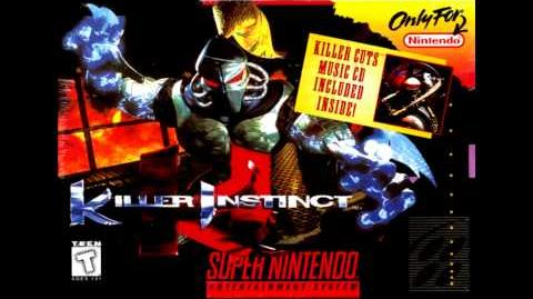 Killer Instinct (SNES) - Player Select